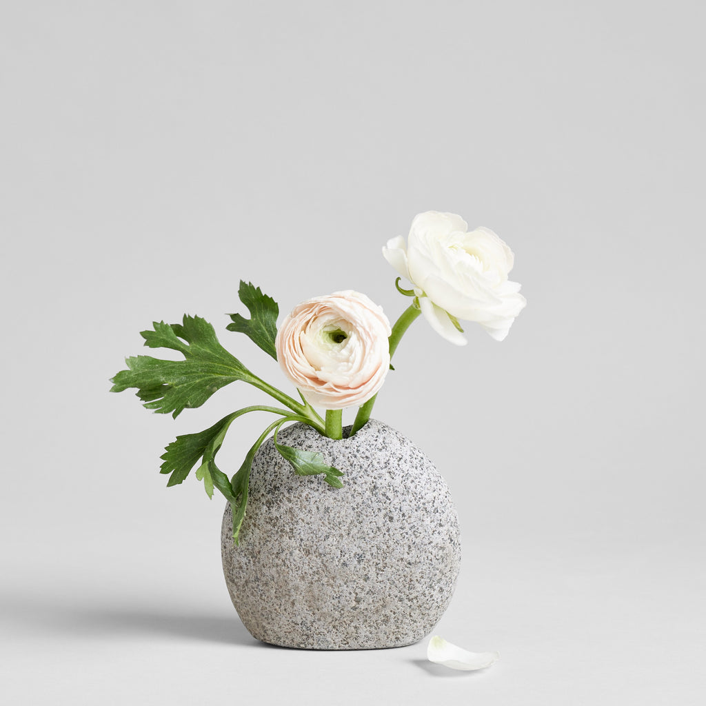 Medium Beach Stone Vase - Bloomist