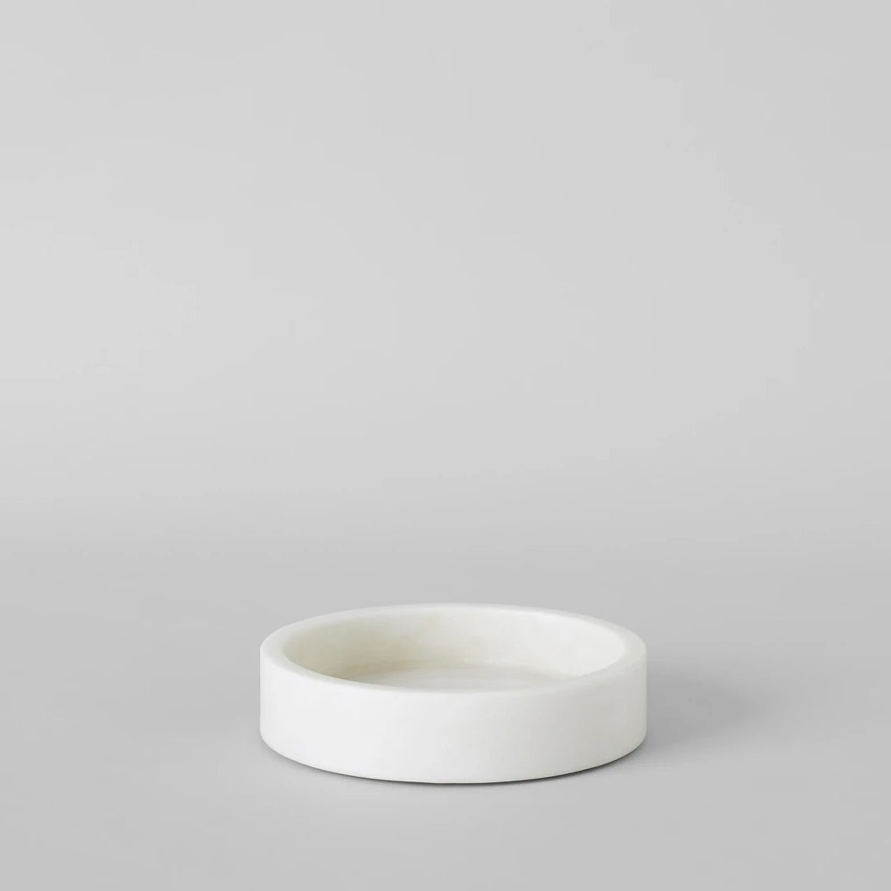 White Marble Cloche Base - Bloomist