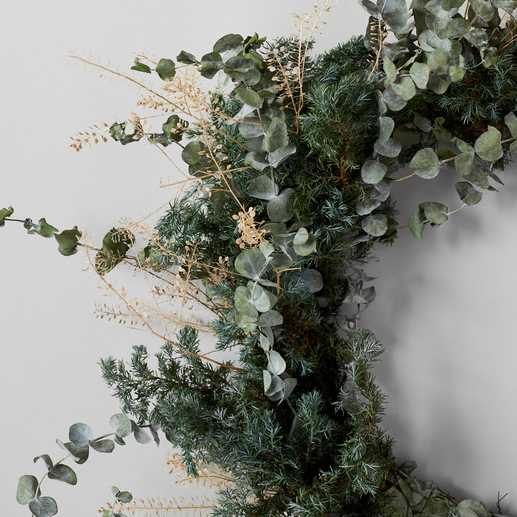 Wild Eucalyptus Wreath