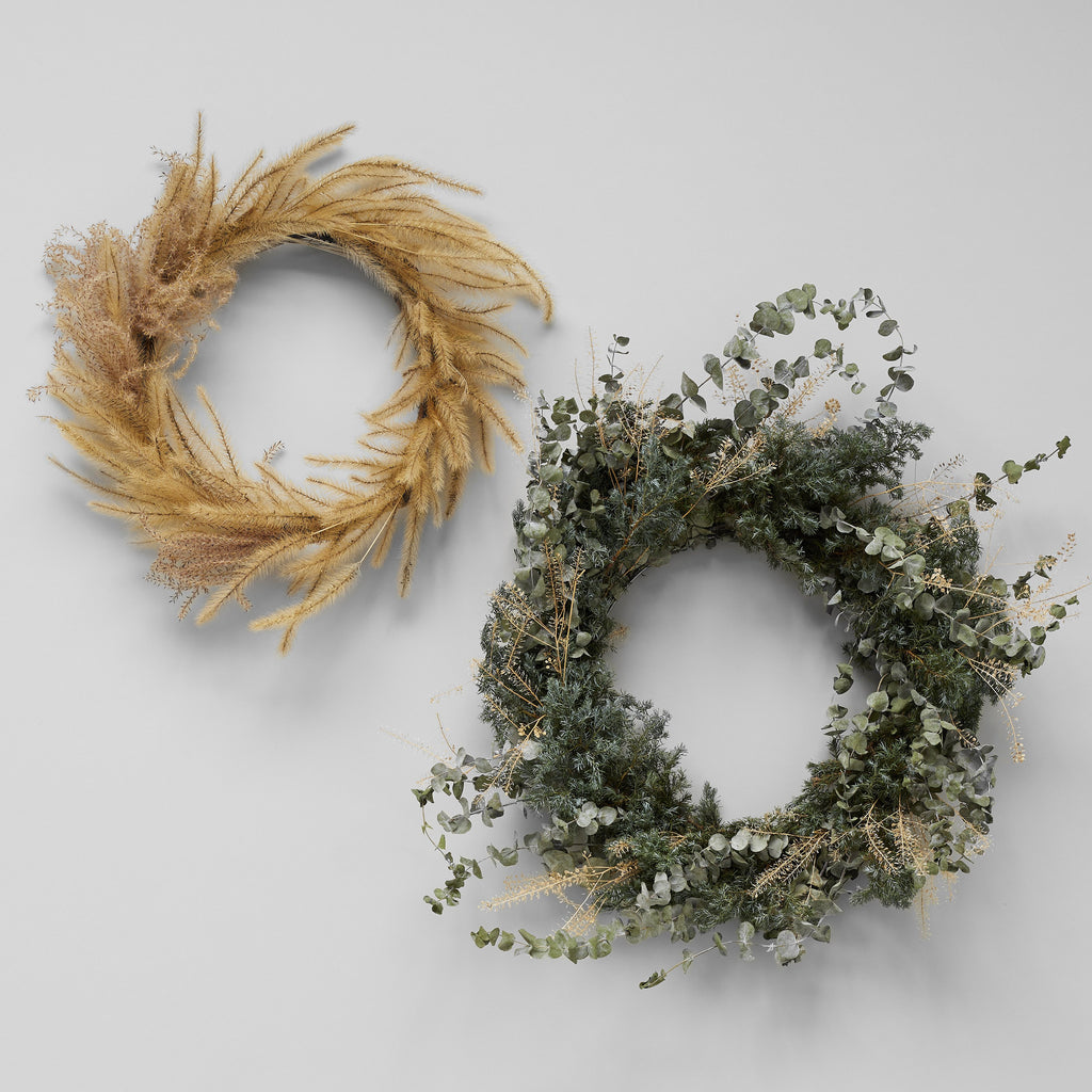 Wild Grass Wreath
