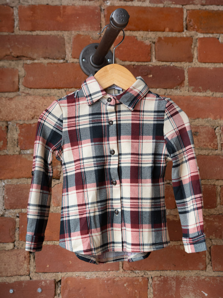 Redwood Flannel Button Up