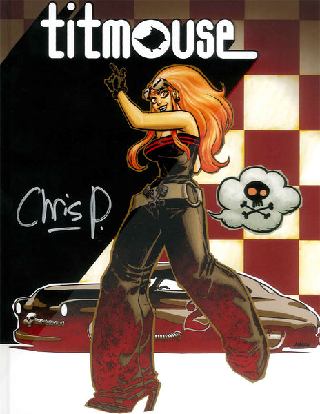 Titmouse Mook Volume 1 - Signed by Chris Prynoski