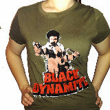 BLACK DYNAMITE! Green Graphic Tee
