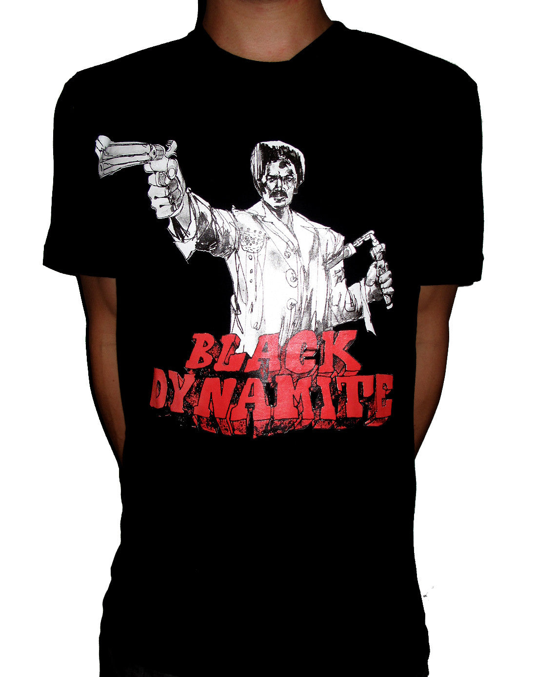 BLACK DYNAMITE! Mens Logo Tee - Black