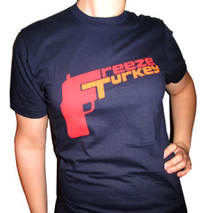 "BLACK DYNAMITE! Womens ""FREEZE TURKEY"" Tee"