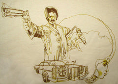 "BLACK DYNAMITE! David Choe ""Sketchy"" Tee"