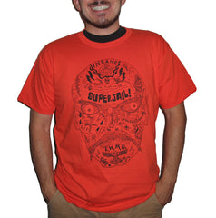SUPERJAIL! TATTOO FACE TEE!