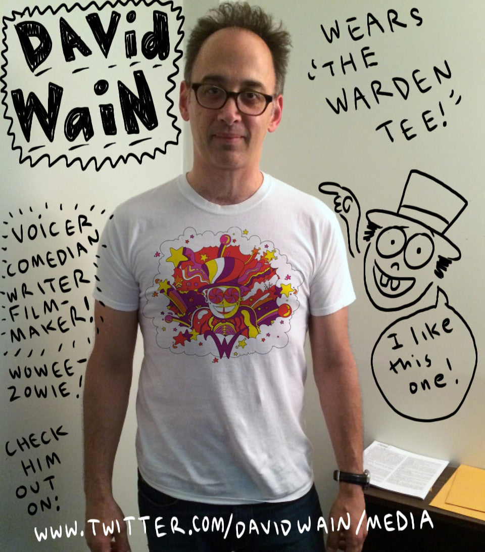 SUPERJAIL! THE WARDEN TEE!