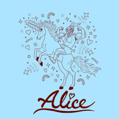 SUPERJAIL! ALICE UNICORN TEE!