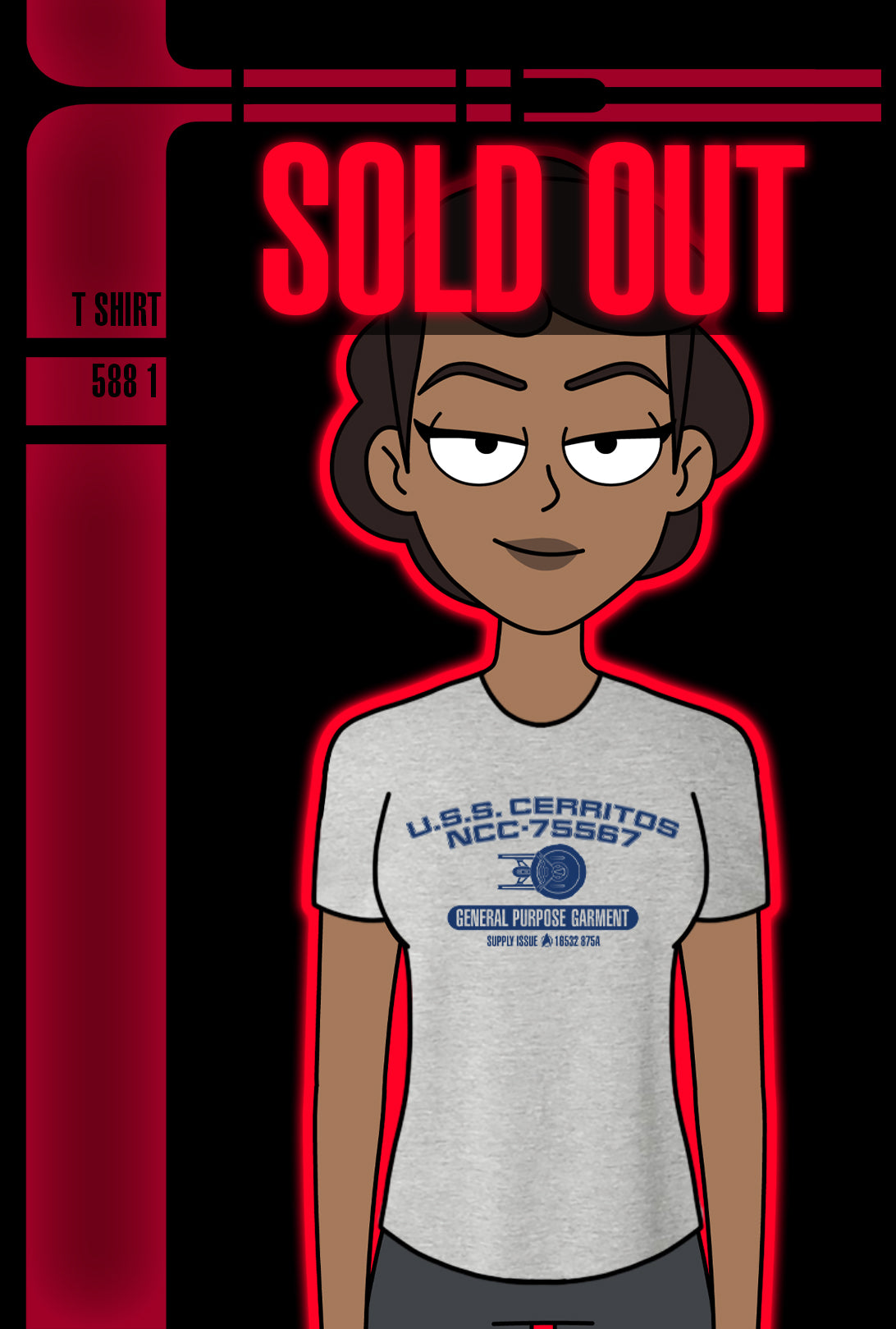 SOLD OUT! Shirt Collective WEEK 1: Second Contact Tee