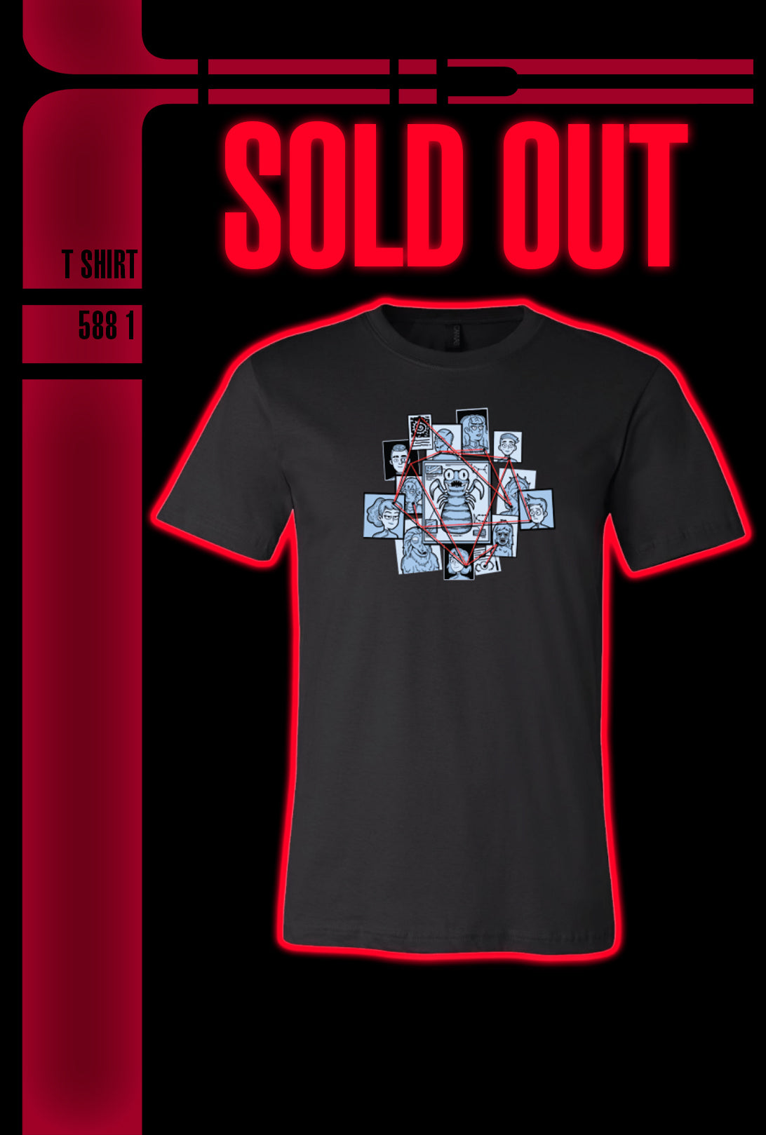 SOLD OUT! Shirt Collective WEEK 5: Cupid's Errant Arrow Tee