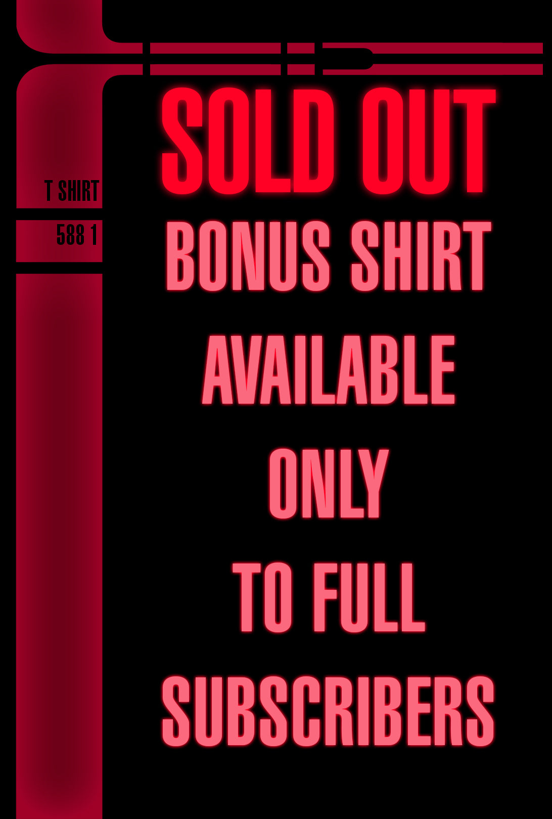 SOLD OUT! Lower Deckers Shirt Collective Subscription