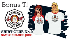 SHIRT CLUB #0 Bonus T-Shirt SAMSON BLOOD JUDO