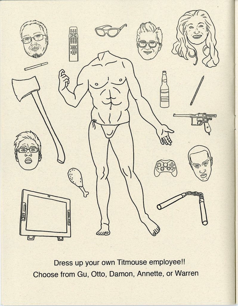 Titmouse Coloring Book