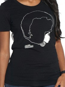 "BLACK DYNAMITE! Womens ""Afro Girl"" Tee"
