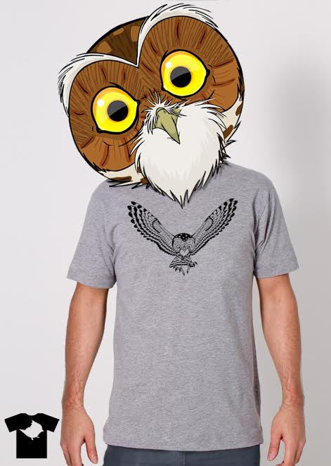 "LIMITED EDITION! ""The Hidden Life of the Burrowing Owl"" Tee!"