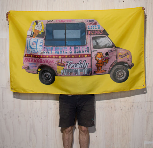 Ice Cream Truck Wall Hanging