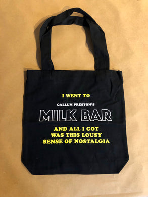 Milk Bar Tote Bag