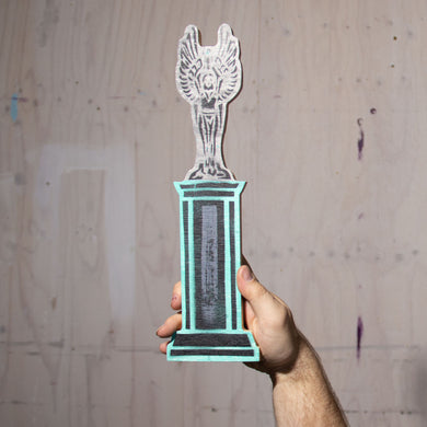 Everything Is Borrowed Plywood Trophy (final few)