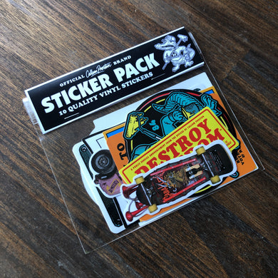 Sticker Pack - 10 Quality Vinyl Stickers