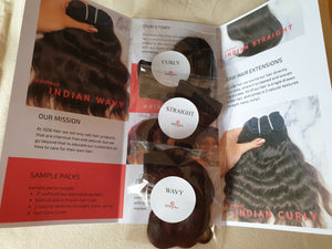 JSDK Hair Sample Packs
