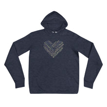 Load image into Gallery viewer, Unisex Hoodies | Light Navy - JSDK Hair