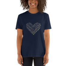 Load image into Gallery viewer, Unisex T-shirts | Navy - JSDK Hair