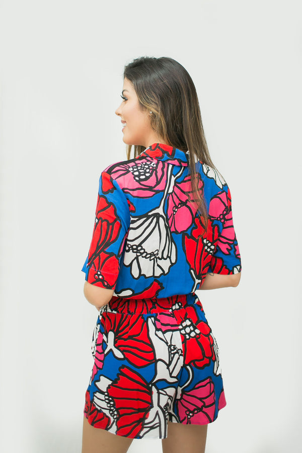 BLUSA ESTAMPA SUN FLOWER