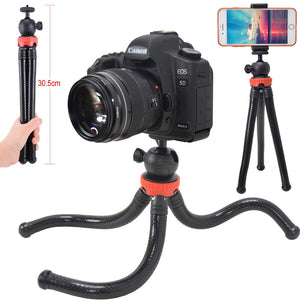 Mini Flexible Photo Camera Tripod Stand with Ballhead