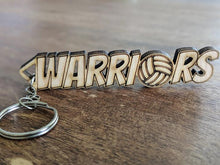 "Load image into Gallery viewer, 4"" Long ""Warrior"" Key Chain"