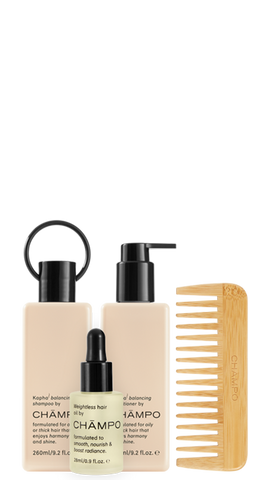 Wash and style balancing set