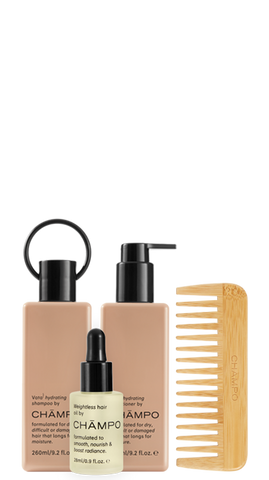 Wash and style hydrating set