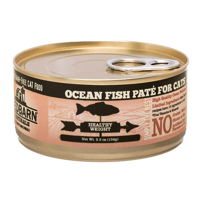 RedBarn - Feline Ocean Fish Pate for Healthy Weight 5.5oz