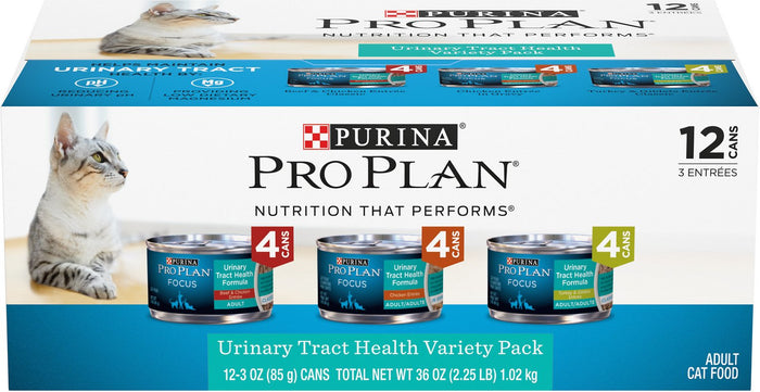 Purina Pro Plan - Urinary Tract Health Wet Cat Food Variety Pack