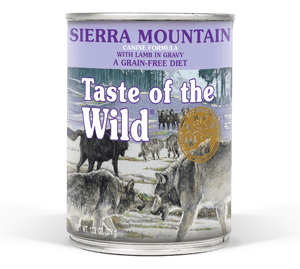 Taste of the Wild - Sierra Mountain Canned