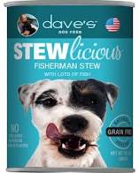Dave's Stewlicious Fisherman Stew Canned Dog