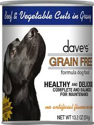 Dave's Beef and Veg Cuts In Gravy Canned Dog