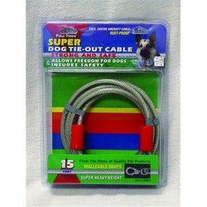 Four Paws - Super Weight Tie Out Cable