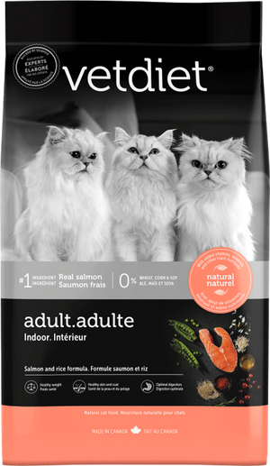 Vetdiet Adult Indoor Cat - Salmon