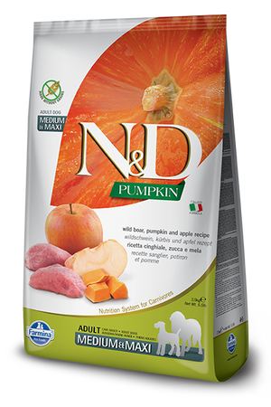 Farmina - Med/Maxi Pumpkin, Boar & Apple Dog Food