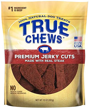 Tyson - True Chews Premium Jerky Cuts with Real Sirloin Steak 10oz.
