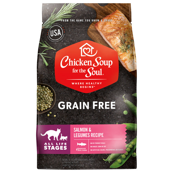 Chicken Soup for the Soul - Grain Free Salmon Cat