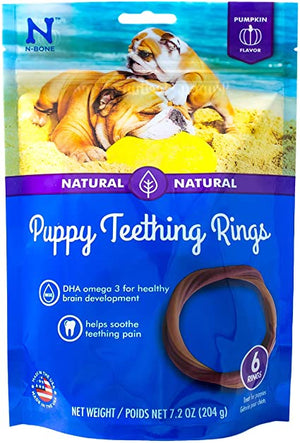 N-Bone - Puppy Teething Rings - 6 pack