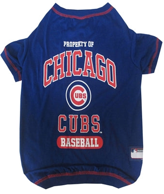 Pets First - Blue Chicago Cubs T-Shirt for Dogs