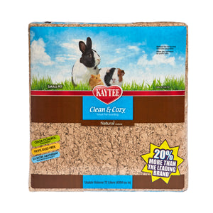Kaytee - Clean & Cozy Natural Paper Bedding 72 Liters