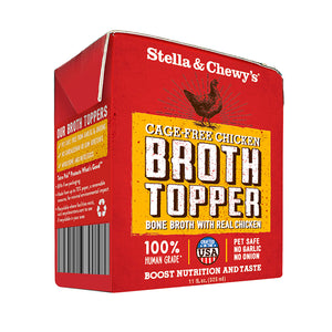 Stella & Chewy's Cage-Free Chicken Broth Topper 11oz
