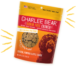 Charlie Bear Chicken, Pumpkin & Apple Flavor