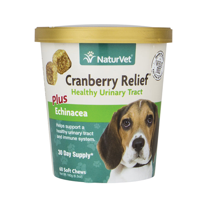 NaturVet Cranberry Relief® Soft Chew 60-count