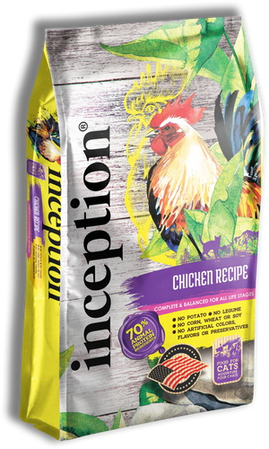 Inception - Chicken Formula for Cats 4-lb