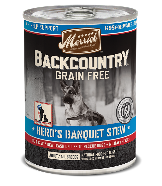 Merrick - Hero's Banquet Stew Canned